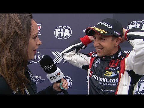 INTERVIEW Nestor Girolami wins Race 2 in Hungary