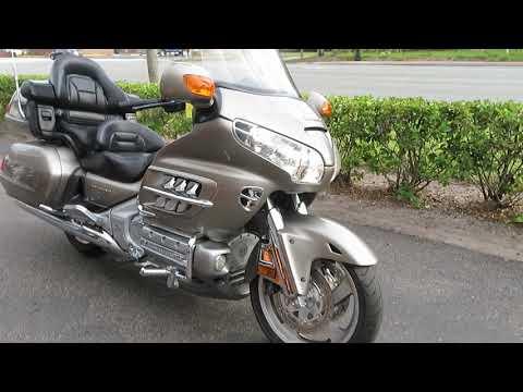 2002 Honda Gold Wing in Sanford, Florida - Video 1