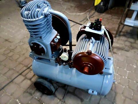 Восстановление ремонт СО-243 ( СО-7Б ) после простоя 5 лет ( compressor repair SO 7B )