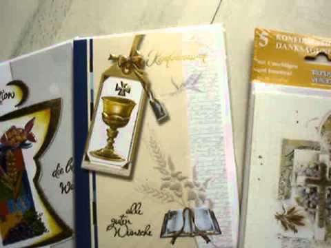 Konfirmationskarten Einladungskarten Danksagungskarten Glückwünsche zur Konfirmation Sprüche