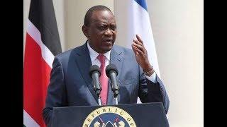 President Uhuru Kenyatta asks Chief Justice, David Maraga to downplay criticism