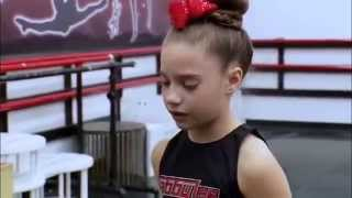 Dance  Moms Mackenzie ziegler crying and running out -FULL CLIP! HD
