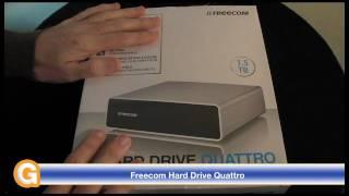 Freecom Hard Drive Quattro Review