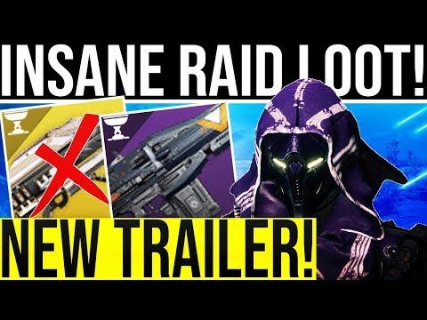 Destiny 2. RAID TRAILER & HIVE GEAR REVEAL! Opulence ShadowPrice/Gjallarhorn? Insane Raid Amor!