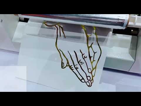 Gold Leaf Printing Machine