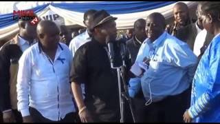FULL UNEDITED VIDEO of Mike Sonko Drama at Wavinya Ndeti Husband Funeral