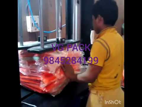 Box Strapping Machine with Top Press
