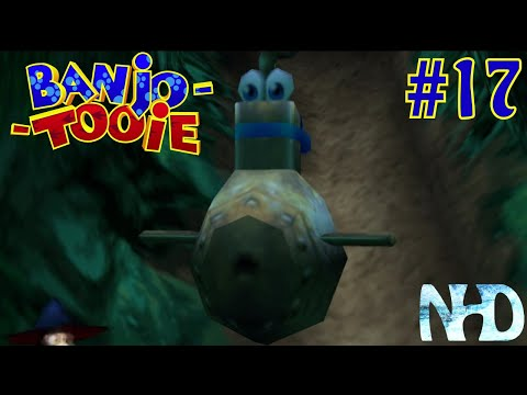 Let's Play Banjo Tooie (pt17) Submarine-game and rescuing the eaten friend (Jolly Roger's Lagoon)