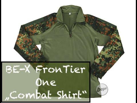 "BE-X FronTier One ""Combat Shirt"", flecktarn"