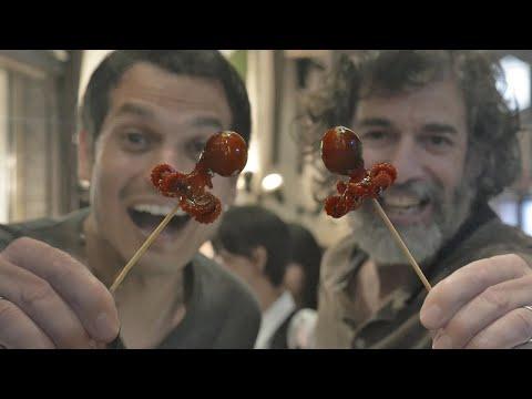 Pouze v Japonsku: Pouliční jídlo Kjóta