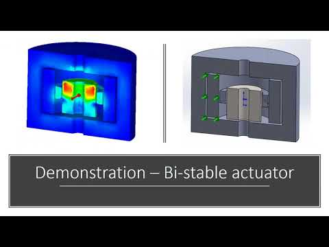 EMW Webinar : Simulation of Bistable Actuators inside SOLIDWORKS