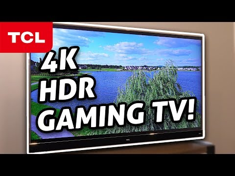 Best Budget 4K HDR Gaming TV?! TCL w/ Roku REVIEW