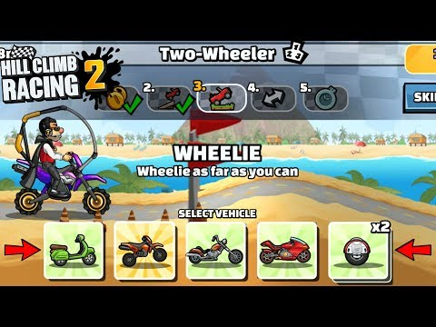 Hill Climb Racing 2 - 36539 points in TWO WHEELER Team Event