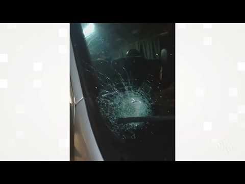Teresópolis: motorista relata tentativa de assalto com pedradas em veículos na BR-116