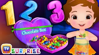Surprise Eggs Numbers Song 1-10 - ChuChu TV Surprise Eggs Learning Videos For Kids