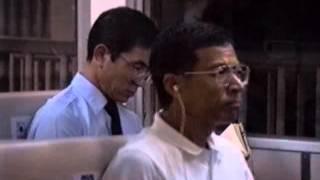 1991昭和島駅東京モノレール日曜日の夜誰もいない910901