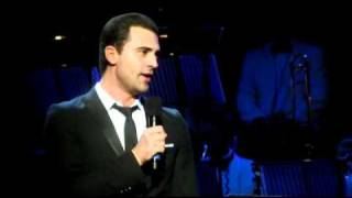 Darius Campbell singing 'Hey Jude' at The Beatles Philharmonic Tribute - 50th Anniversary Concert