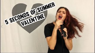 5 SECONDS OF SUMMER - VALENTINE - YOUNGBLOOD STUDIO VERSION LYRICS [5SOS] (Cover by Chasing Velvet)
