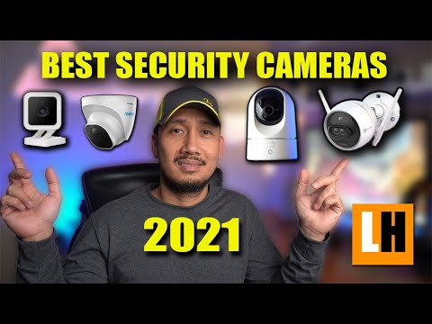 Best Home Security Cameras 2021 - Outdoor, Indoor, Battery & Wired, WIFI & PoE Cameras