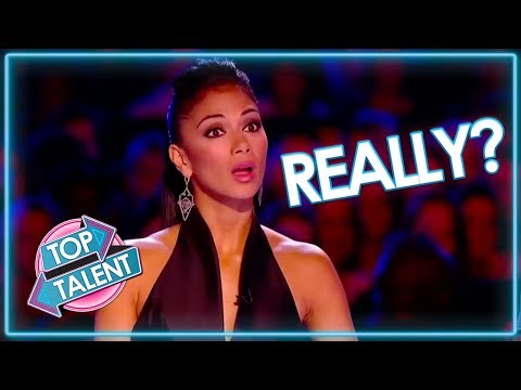 Are These Acts FOR REAL? Auditions That Went Wrong | Top Talent (видео)