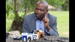 Maina Kamanda delivers message to Raila Odinga as Moses Kuria declines to support Mariga