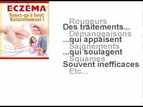 Le traitement contre la démangeaison de leczéma sec