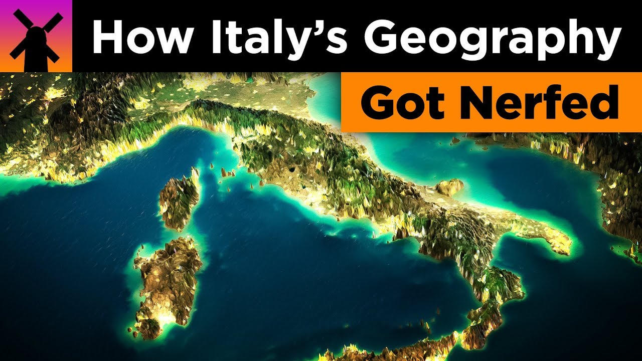 How Italy's Geography got Badly Nerfed thumbnail