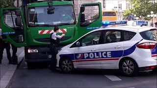 Paris: opération de police après le vol... d