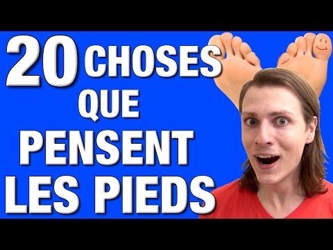 Les signes des maladies des veines des pieds