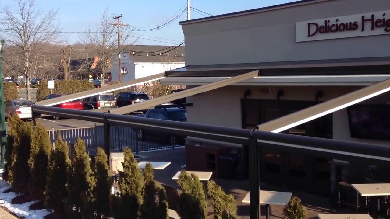 Retractable Pergola Roofs