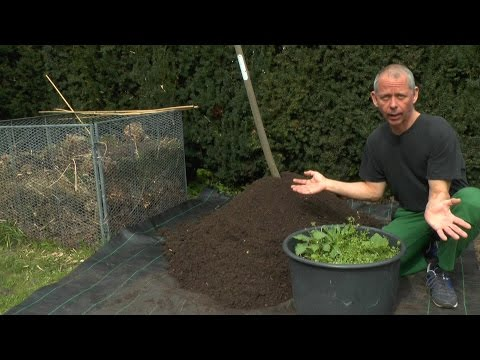 Kompost Herstellung ganz einfach
