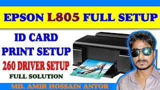 Epson L805 Id Card Tray