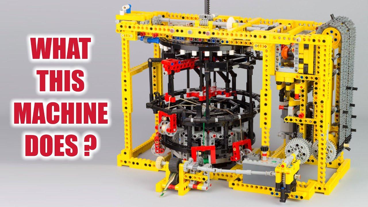 Lego Technic - Kumihimo Braiding Machine