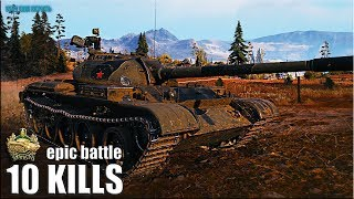 Т-54 ВРАГИ с него АХРЕНЕЛИ 🌟 медаль Николса 🌟 World of Tanks лучший бой на ст 9 уровня