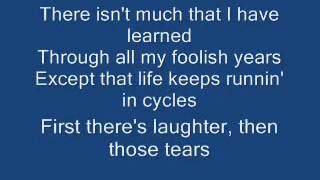 Cycles Frank Sinatra Lyrics