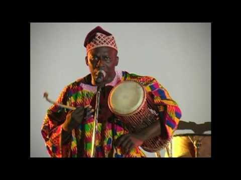 The talking drum-Donno.mpg-Kwame Ansah-Brew @ Frostburg State Univ.