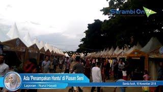 Ada 'Penampakan Hantu' di Piasan Seni Banda Aceh