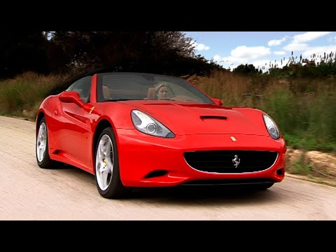 Driving The Ferrari California