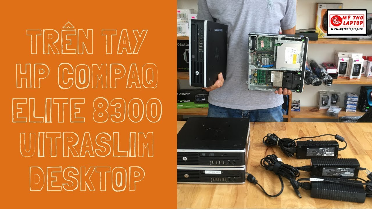 Trên tay HP Compaq Elite 8300 Uitra Slim Desktop Core i3 2120 - Ram 4GB - HDD 250GB