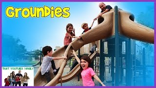 PLAYGROUND WARS   Grounders OR Groundies?  That YouTub3 Family I The Adventurers