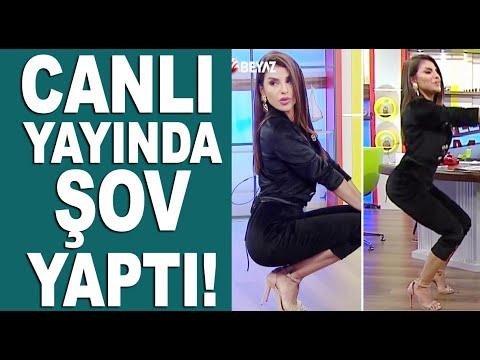 Konu: Kadın estetiği / Bircan Bali'den squat dersi!