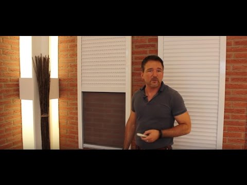 Rollladen mit Insektenschutzrollo | Rollläden | Produktvideos von Rollo Rieper