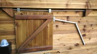 Réglage Des Niveaux Lumineux Sur Le Portier Automatique Chicken - Porte automatique poulailler solaire