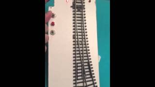 Turnout control MTB MP1 model train H0,TT,N (toggle switch,feedback on led,analog)