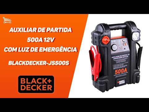 Auxiliar de Partida 500A 12V com Luz de Emergência - Video