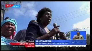 Aliyekuwa Meya wa Kitui Martha Mwangani afariki baada ya kugongwa na gari la zima moto