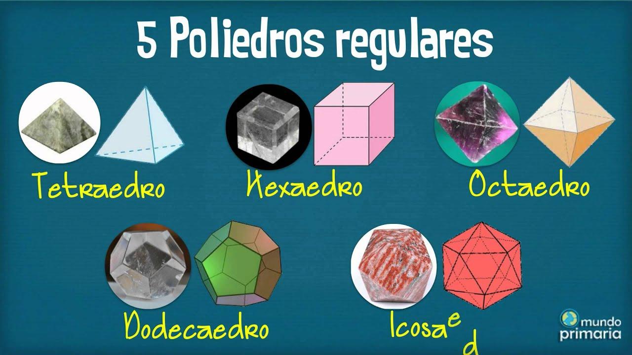 Los poliedros convexos: vídeo infantil de cuerpos geométricos