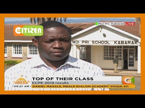 82 candidates scored 400 marks in Moi Primary School, Kabarak