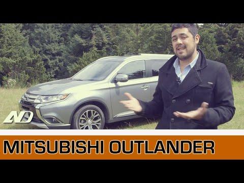 Mitsubishi Outlander - Sencilla, muy sencilla.