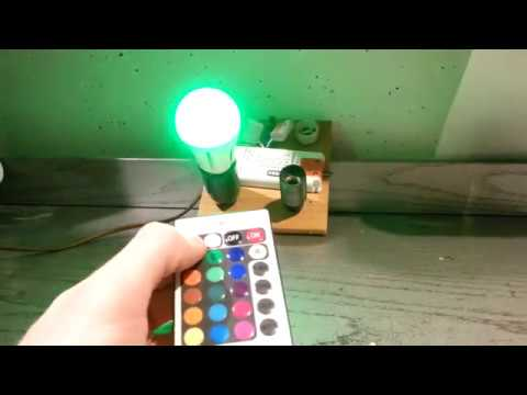 Farbwechsel LED Lampe